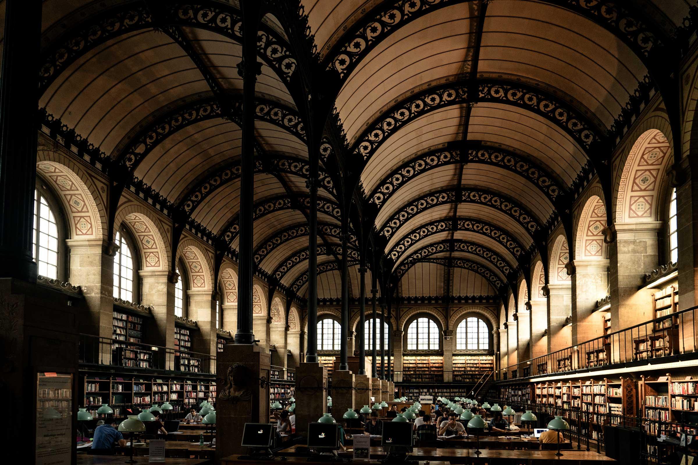 Library Login Screen